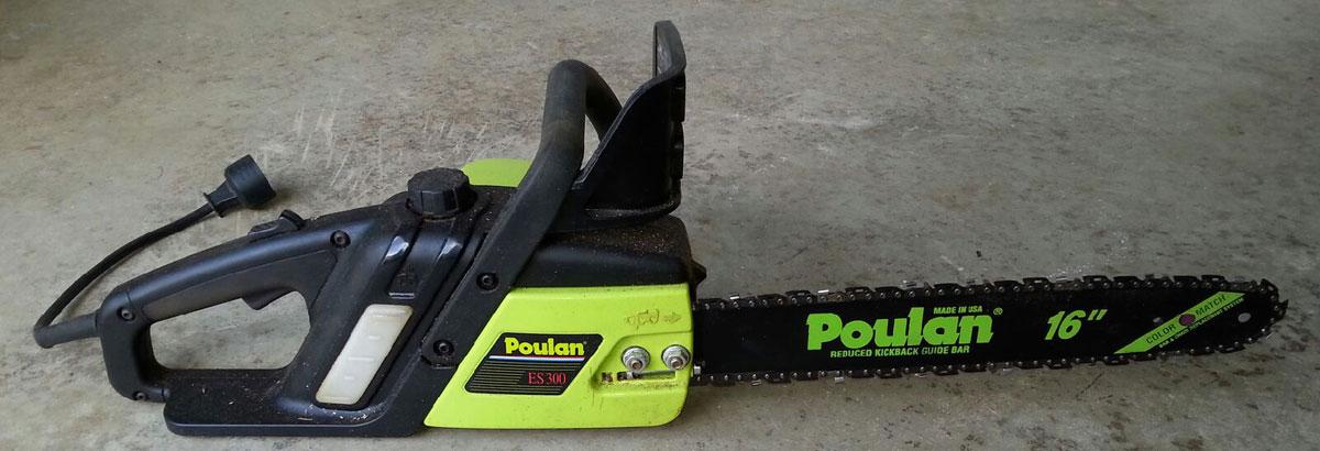 poulan electric chainsaw manual pln3516f